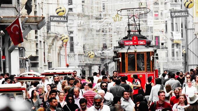 istanbulun nüfusu ne kadar