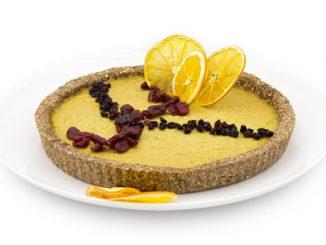 Raw Vegan Portakallı Cheesecake (Glutensiz)